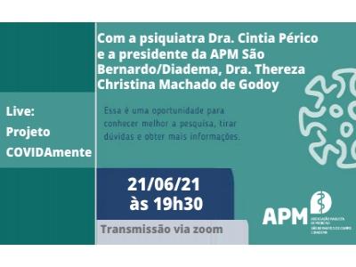 Live: Programa COVIDAmente